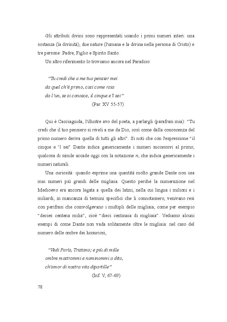 Anteprima della tesi: Le due culture: scienza e letteratura nella Commedia, Pagina 3