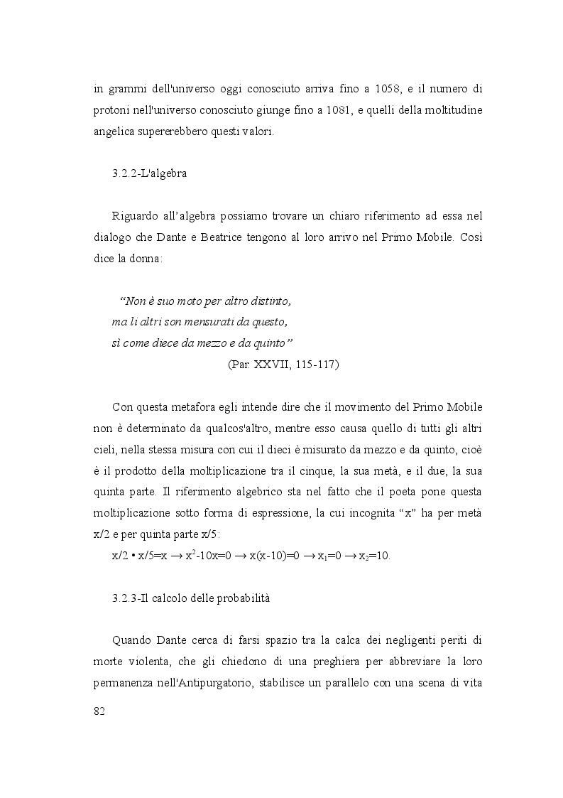 Anteprima della tesi: Le due culture: scienza e letteratura nella Commedia, Pagina 7