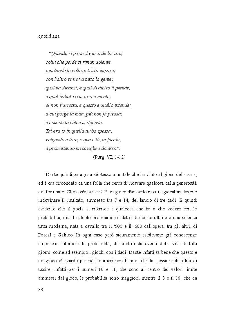 Anteprima della tesi: Le due culture: scienza e letteratura nella Commedia, Pagina 8