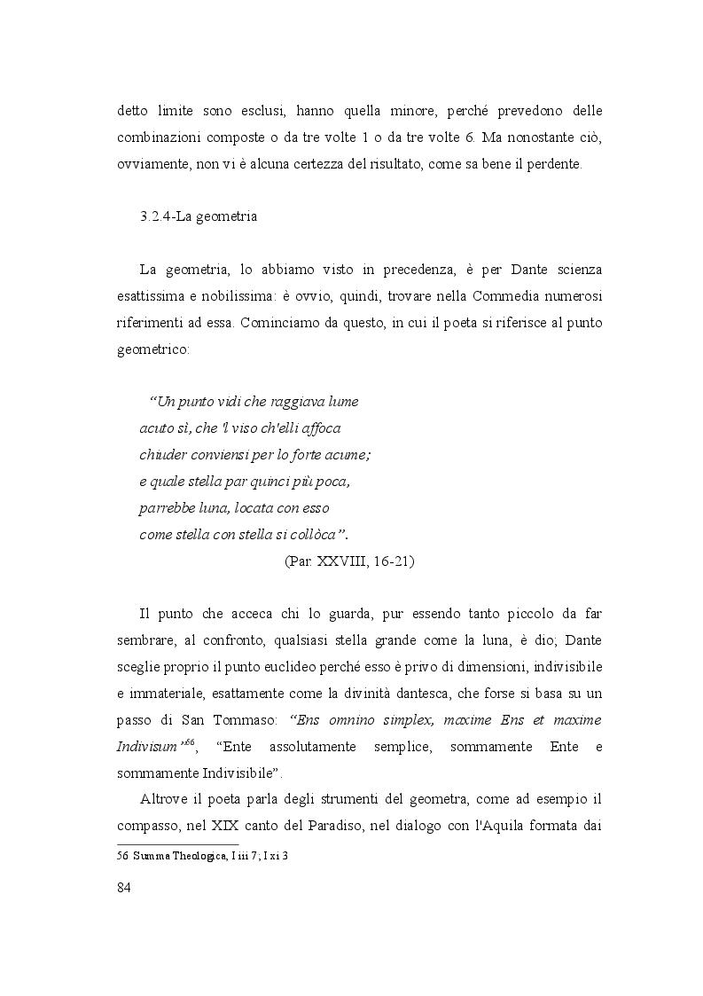 Anteprima della tesi: Le due culture: scienza e letteratura nella Commedia, Pagina 9