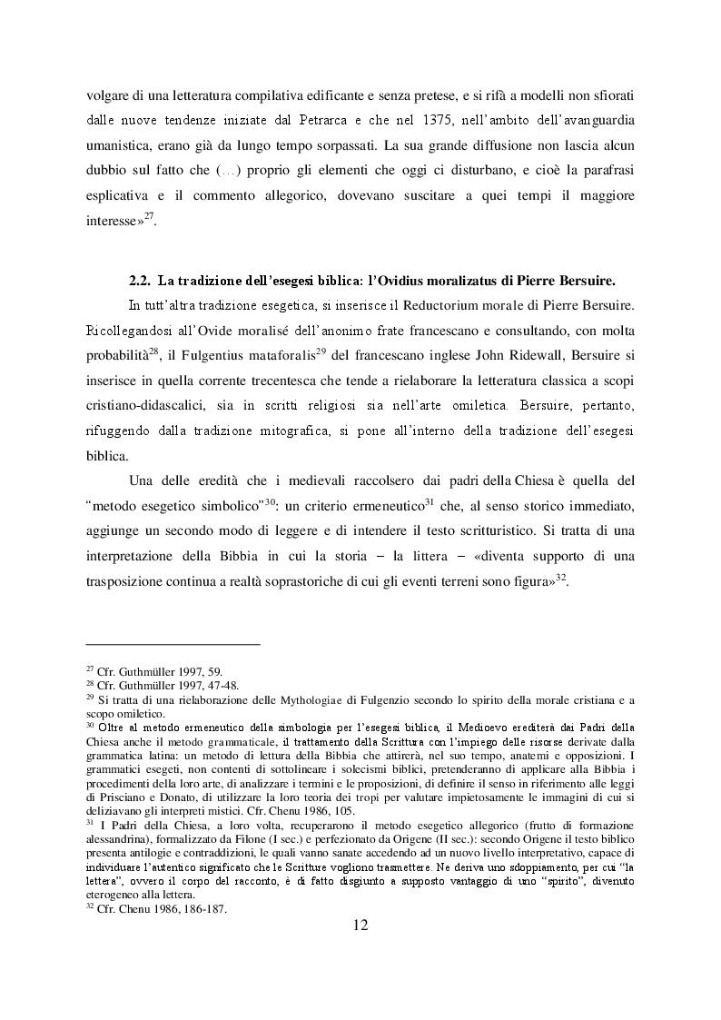 Anteprima della tesi: Il mito di Perseo nelle Genealogie deorum gentilium di Giovanni Boccaccio, Pagina 10