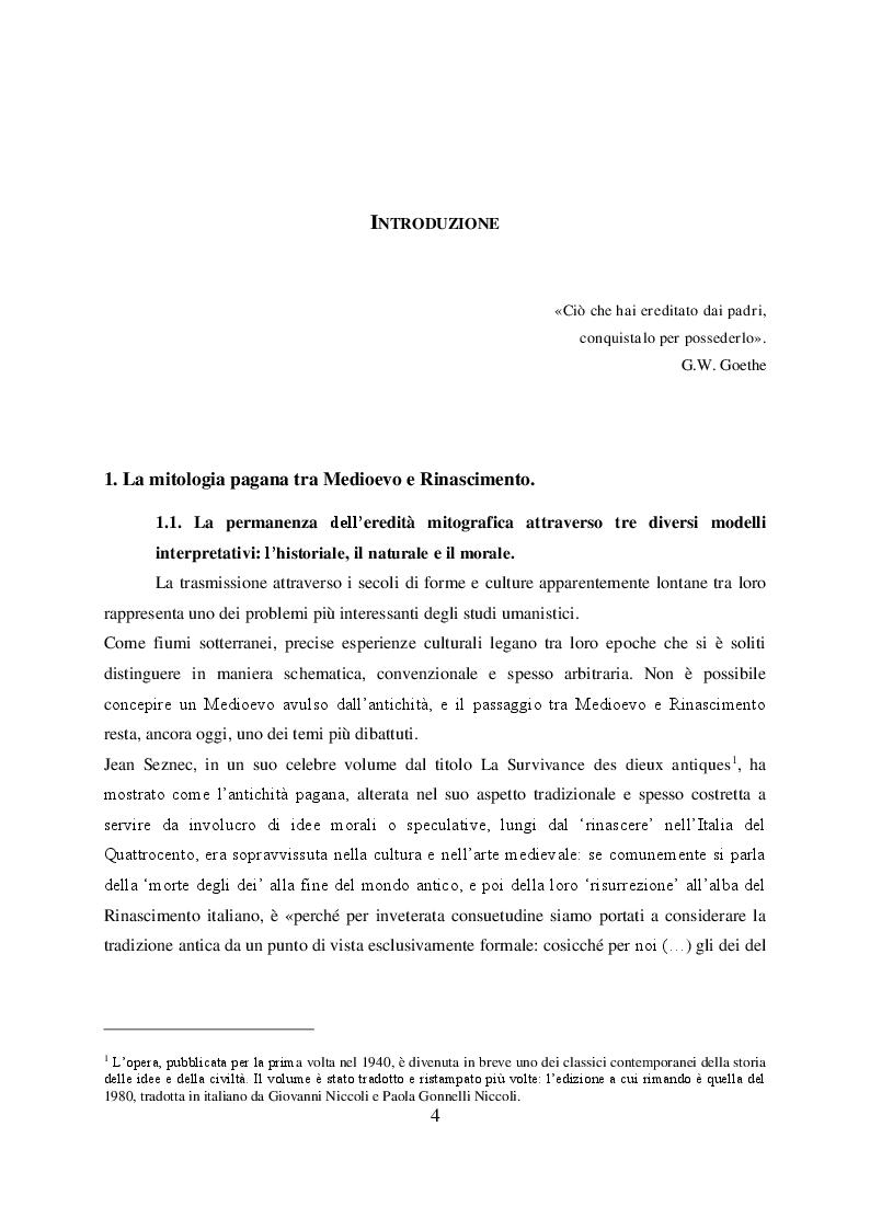 Anteprima della tesi: Il mito di Perseo nelle Genealogie deorum gentilium di Giovanni Boccaccio, Pagina 2