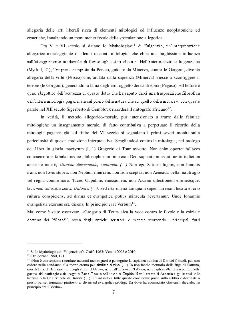 Anteprima della tesi: Il mito di Perseo nelle Genealogie deorum gentilium di Giovanni Boccaccio, Pagina 5