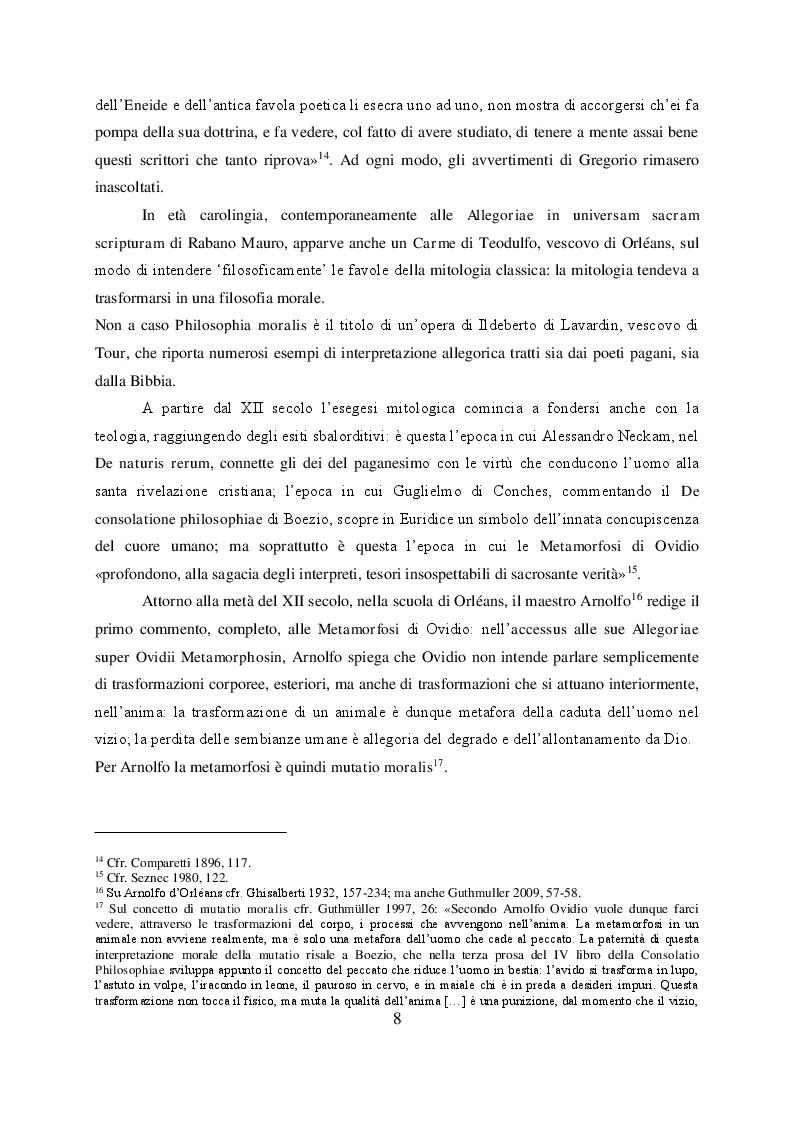 Anteprima della tesi: Il mito di Perseo nelle Genealogie deorum gentilium di Giovanni Boccaccio, Pagina 6