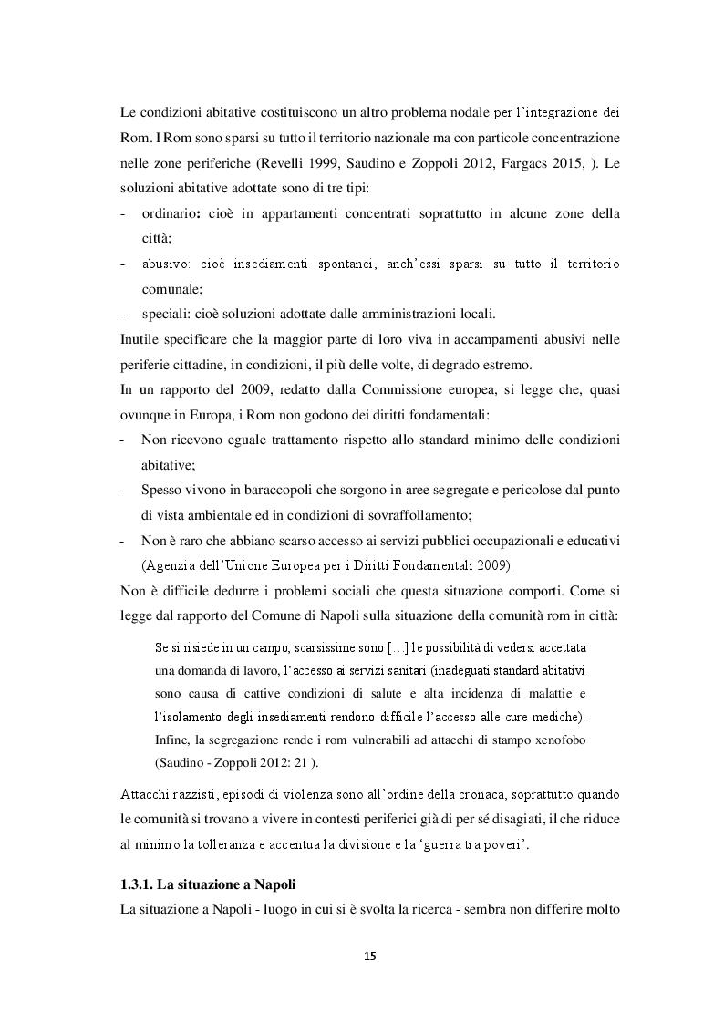 Estratto dalla tesi: Aspetti morfosintattici dell'italiano L2 di madrelingua romanès