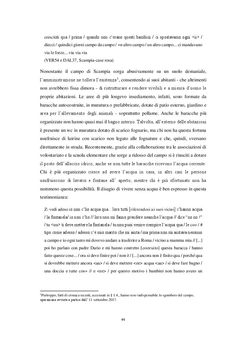 Anteprima della tesi: Aspetti morfosintattici dell'italiano L2 di madrelingua romanès, Pagina 5
