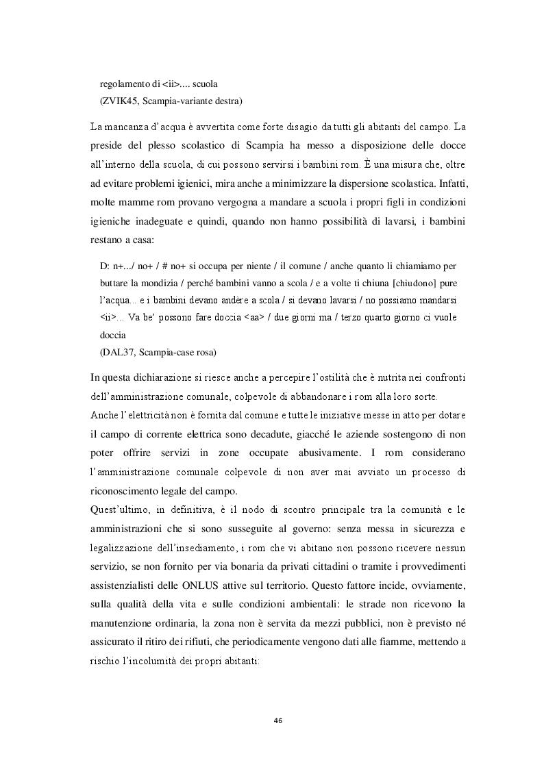 Anteprima della tesi: Aspetti morfosintattici dell'italiano L2 di madrelingua romanès, Pagina 6