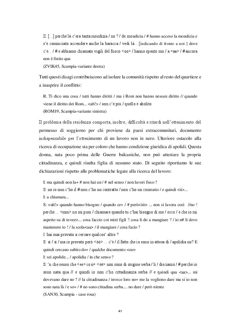Anteprima della tesi: Aspetti morfosintattici dell'italiano L2 di madrelingua romanès, Pagina 7