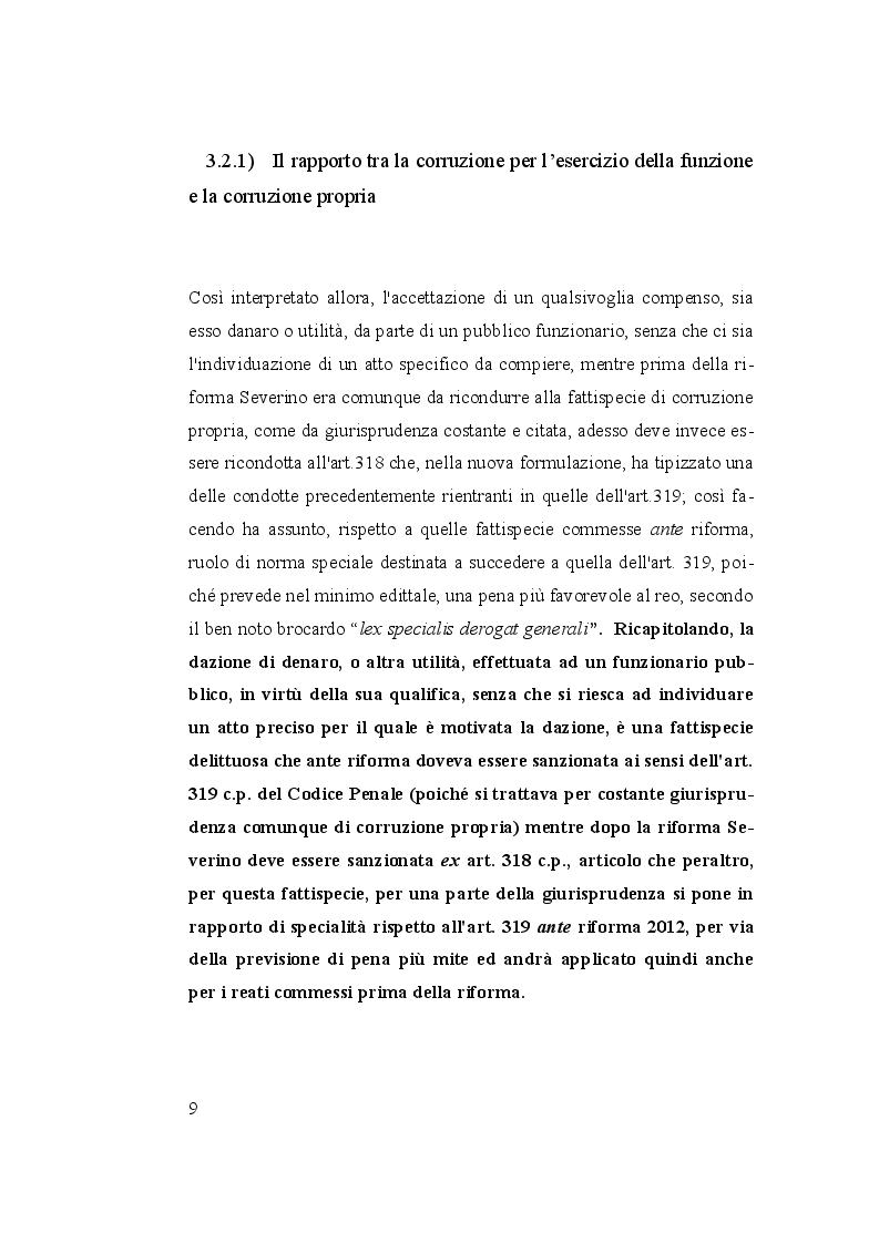 Anteprima della tesi: I reati di corruzione, Pagina 2