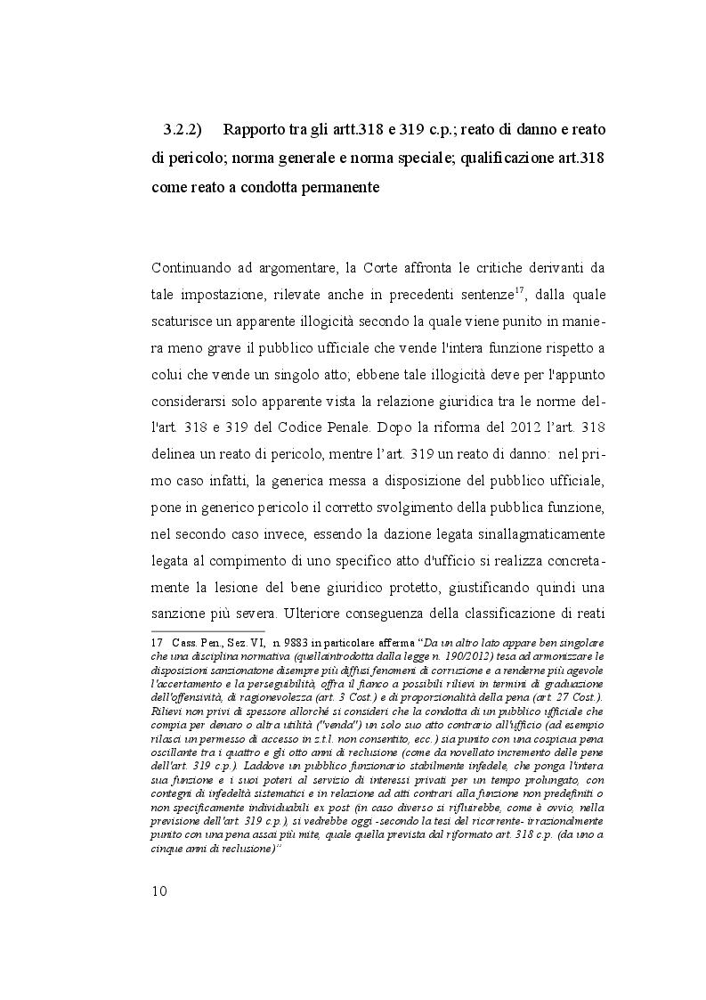 Anteprima della tesi: I reati di corruzione, Pagina 3