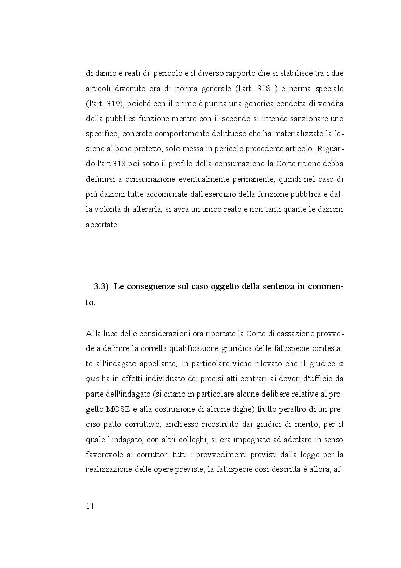 Anteprima della tesi: I reati di corruzione, Pagina 4