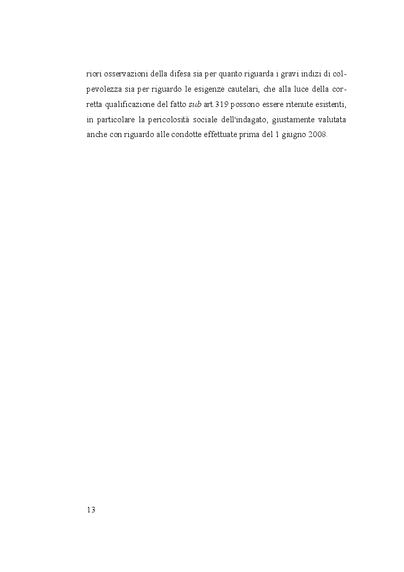 Anteprima della tesi: I reati di corruzione, Pagina 6