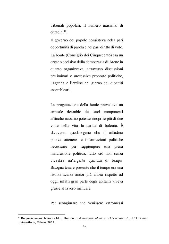 Anteprima della tesi: Cittadinanza e l'educazione del cittadino, Pagina 6