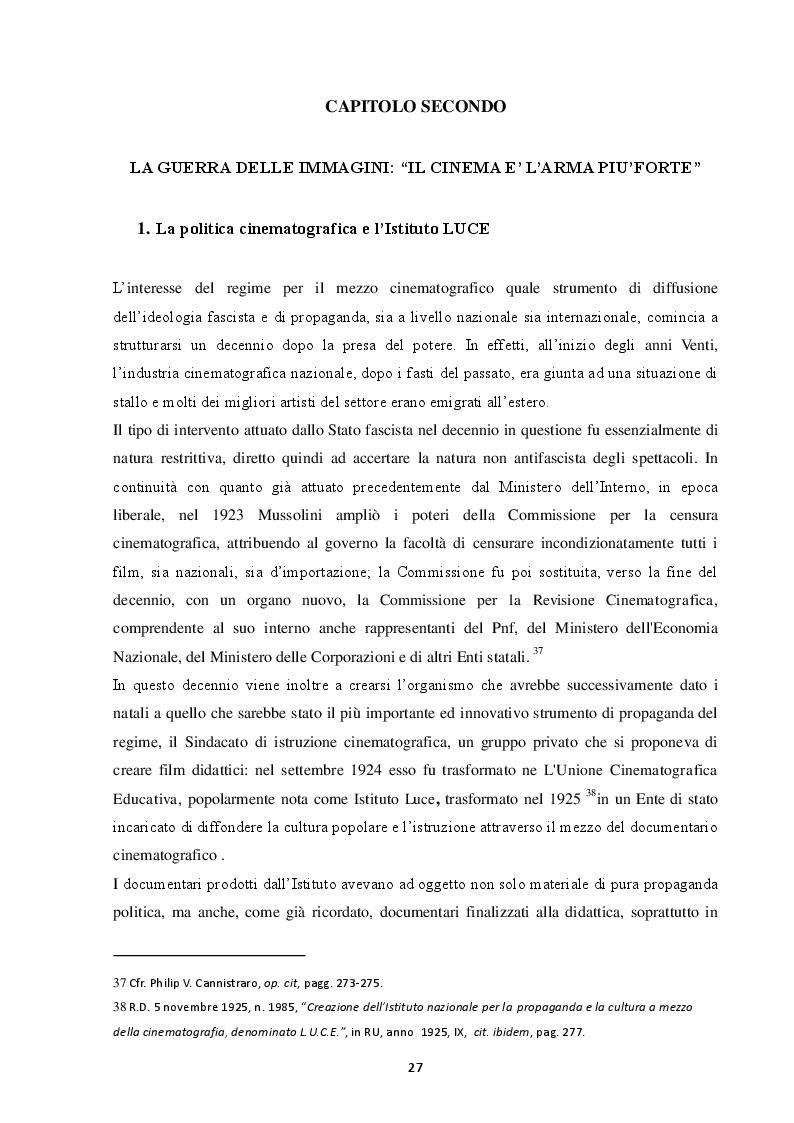 Anteprima della tesi: La politica fascista tra rivoluzione e ricerca del consenso: uno sguardo d'insieme e il caso del territorio livornese, Pagina 2