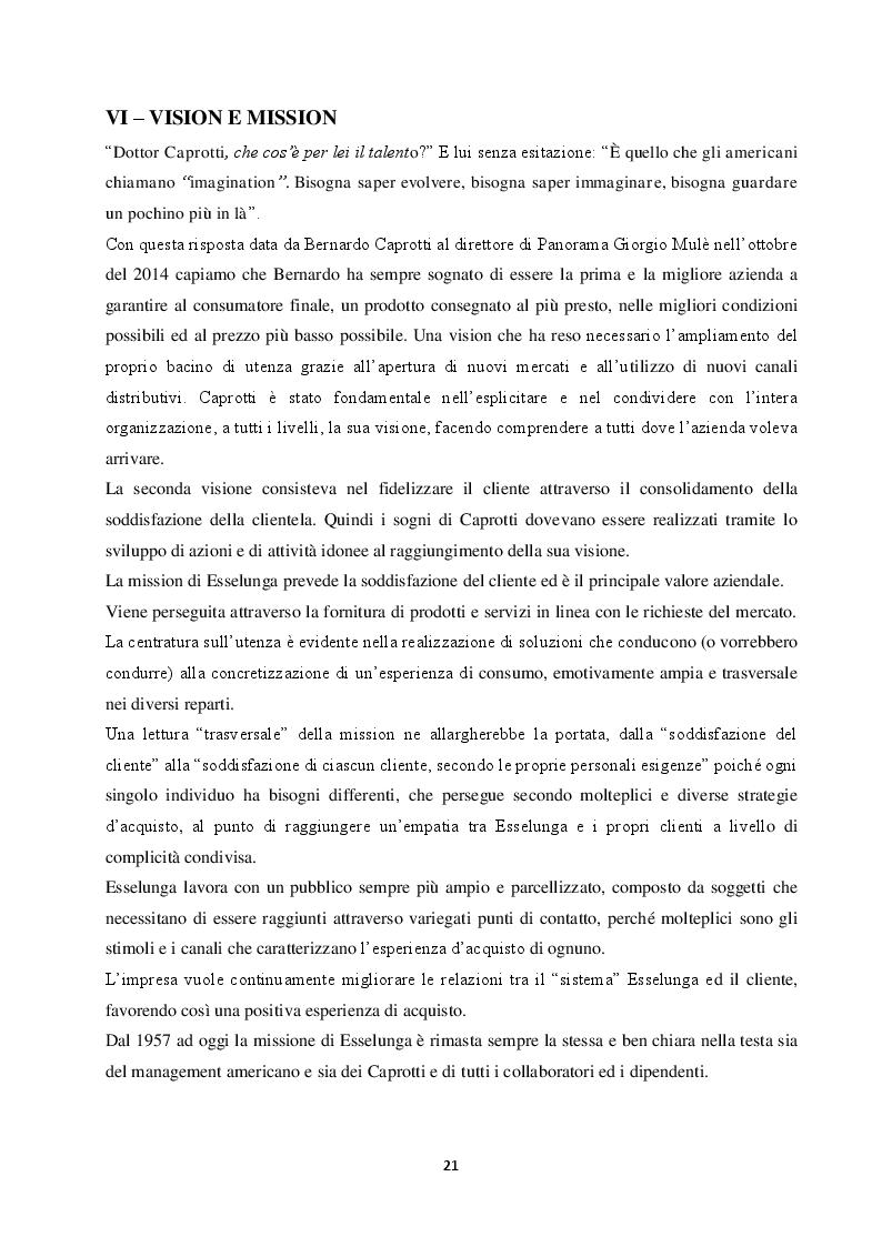 Anteprima della tesi: Competere in un Oceano Rosso: il caso Esselunga, Pagina 5