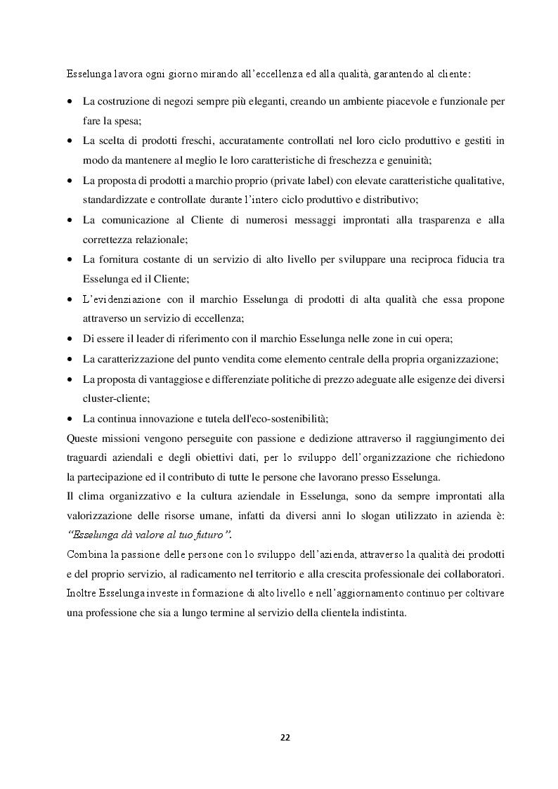 Anteprima della tesi: Competere in un Oceano Rosso: il caso Esselunga, Pagina 6