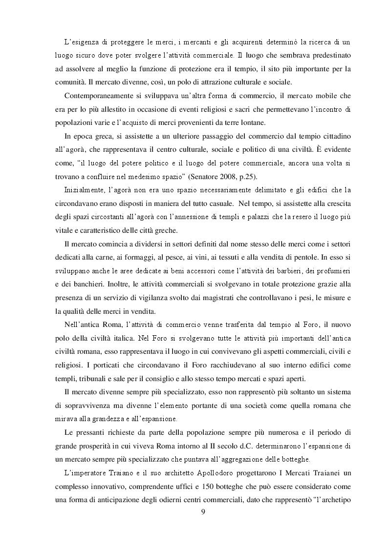 Anteprima della tesi: I Centri Commerciali e la Responsabilità Sociale: La Collaborazione dei diversi Stakeholder per la promozione del benessere collettivo, Pagina 7