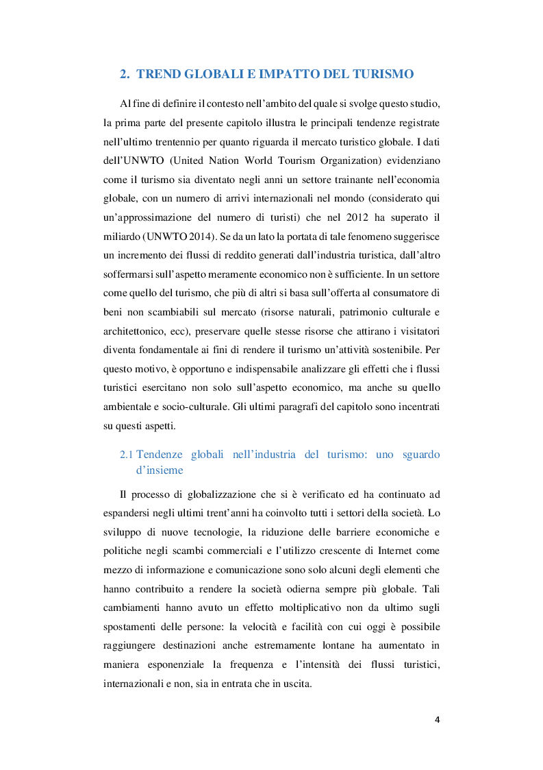 Anteprima della tesi: Turismo sostenibile e performance system: Il Tourism Optimization Management Model, Pagina 5