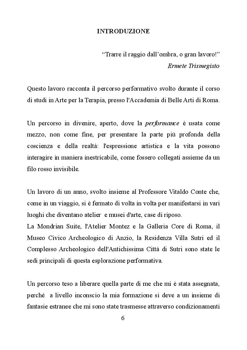 Anteprima della tesi: Le identità nell'azione performativa, Pagina 2