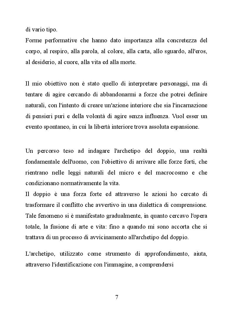 Anteprima della tesi: Le identità nell'azione performativa, Pagina 3