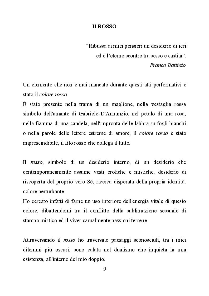Anteprima della tesi: Le identità nell'azione performativa, Pagina 5