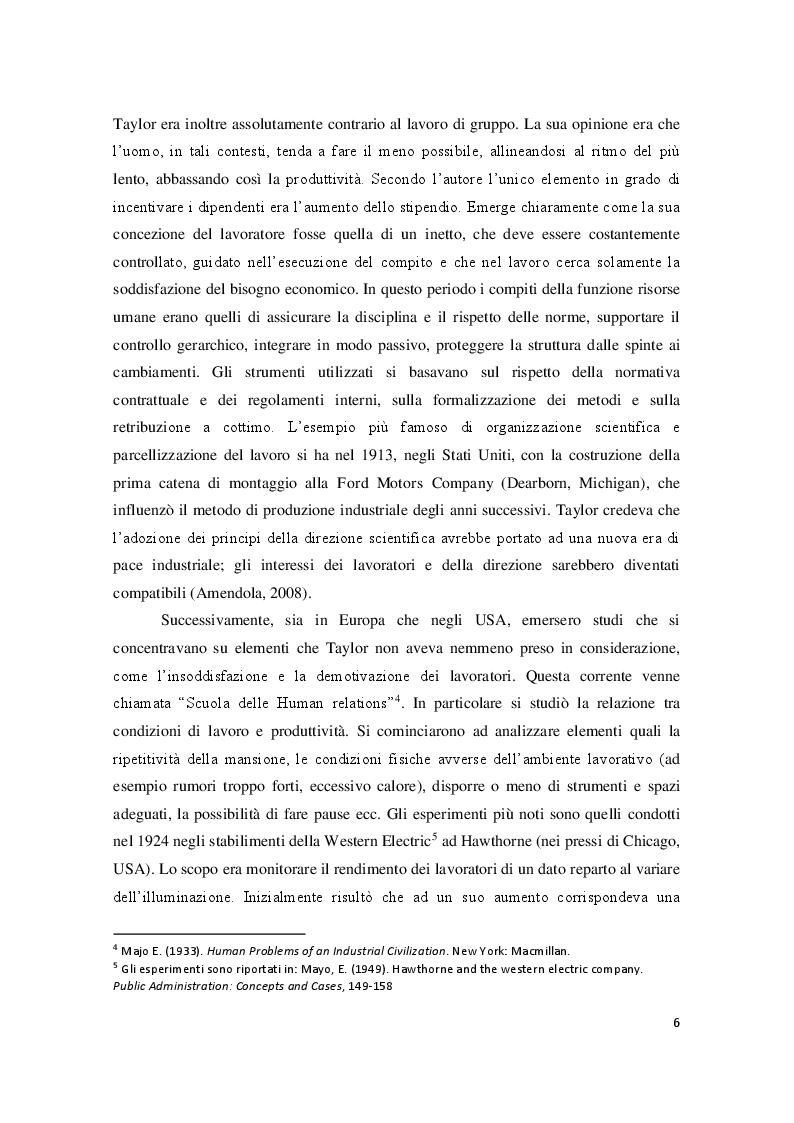 Anteprima della tesi: Employer Branding: il marketing applicato alla gestione delle risorse umane, Pagina 5