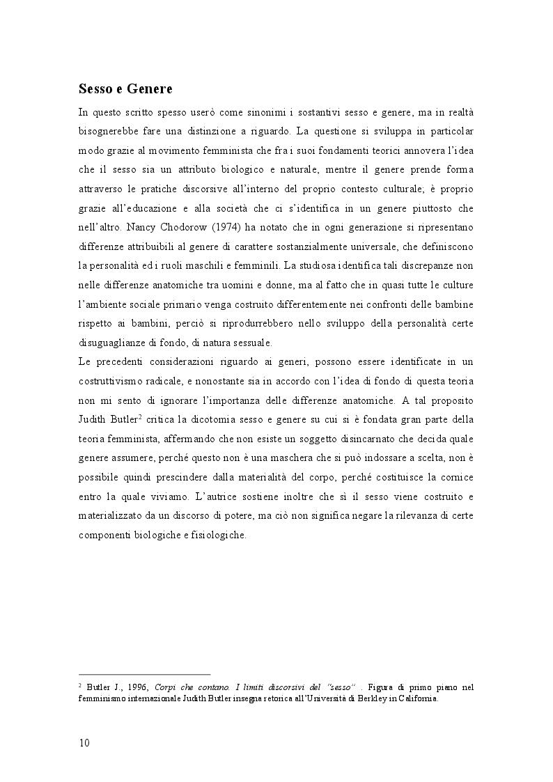 Anteprima della tesi: Genere e disturbi di personalità, Pagina 2