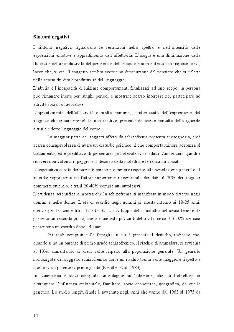 Estratto dalla tesi: Il mondo di Carroll e la schizofrenia. Confronto tra il comportamento schizofrenico e le opere di Lewis Carroll