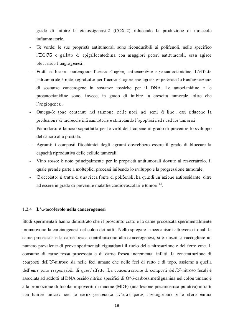 Anteprima della tesi: Valutazione dell'attività biologica di digeriti di carne rossa processata su linee cellulari intestinali umane, Pagina 7