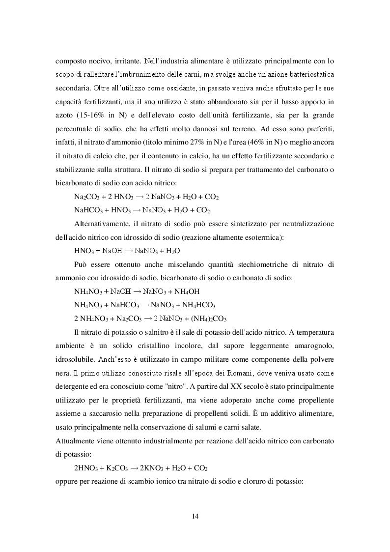 Anteprima della tesi: Uso dei Nitrati e Nitriti nell'industria dei salumi, Pagina 5