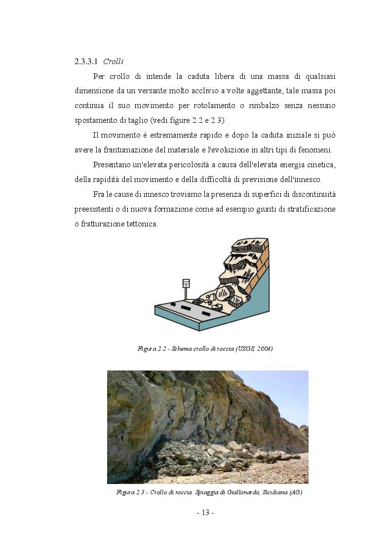 Anteprima della tesi: Fenomeni franosi: dall'analisi alla stabilizzazione, Pagina 10