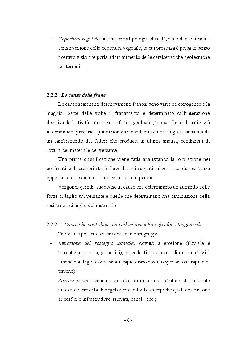 Anteprima della tesi: Fenomeni franosi: dall'analisi alla stabilizzazione, Pagina 3