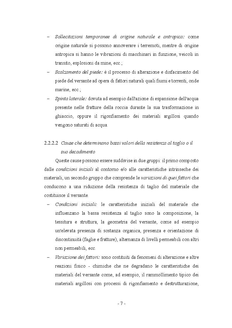 Anteprima della tesi: Fenomeni franosi: dall'analisi alla stabilizzazione, Pagina 4