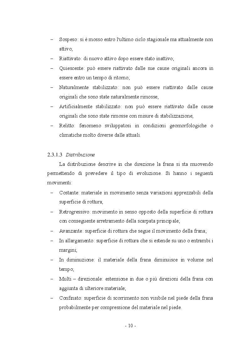 Anteprima della tesi: Fenomeni franosi: dall'analisi alla stabilizzazione, Pagina 7
