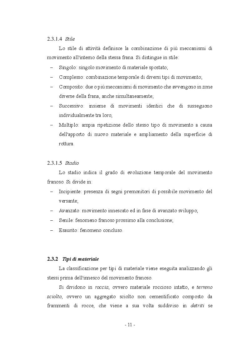 Anteprima della tesi: Fenomeni franosi: dall'analisi alla stabilizzazione, Pagina 8