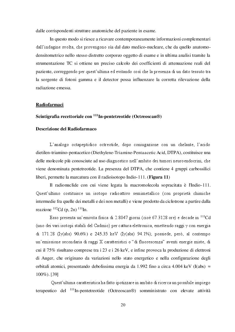 Anteprima della tesi: Imaging medico-nucleare con analoghi della somatostatina radiomarcati: Analisi comparativa degli aspetti tecnici, Pagina 5