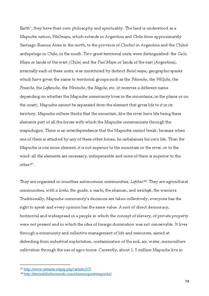 Anteprima della tesi: The Rights of Indigenous Peoples: Mapuche case, Pagina 5