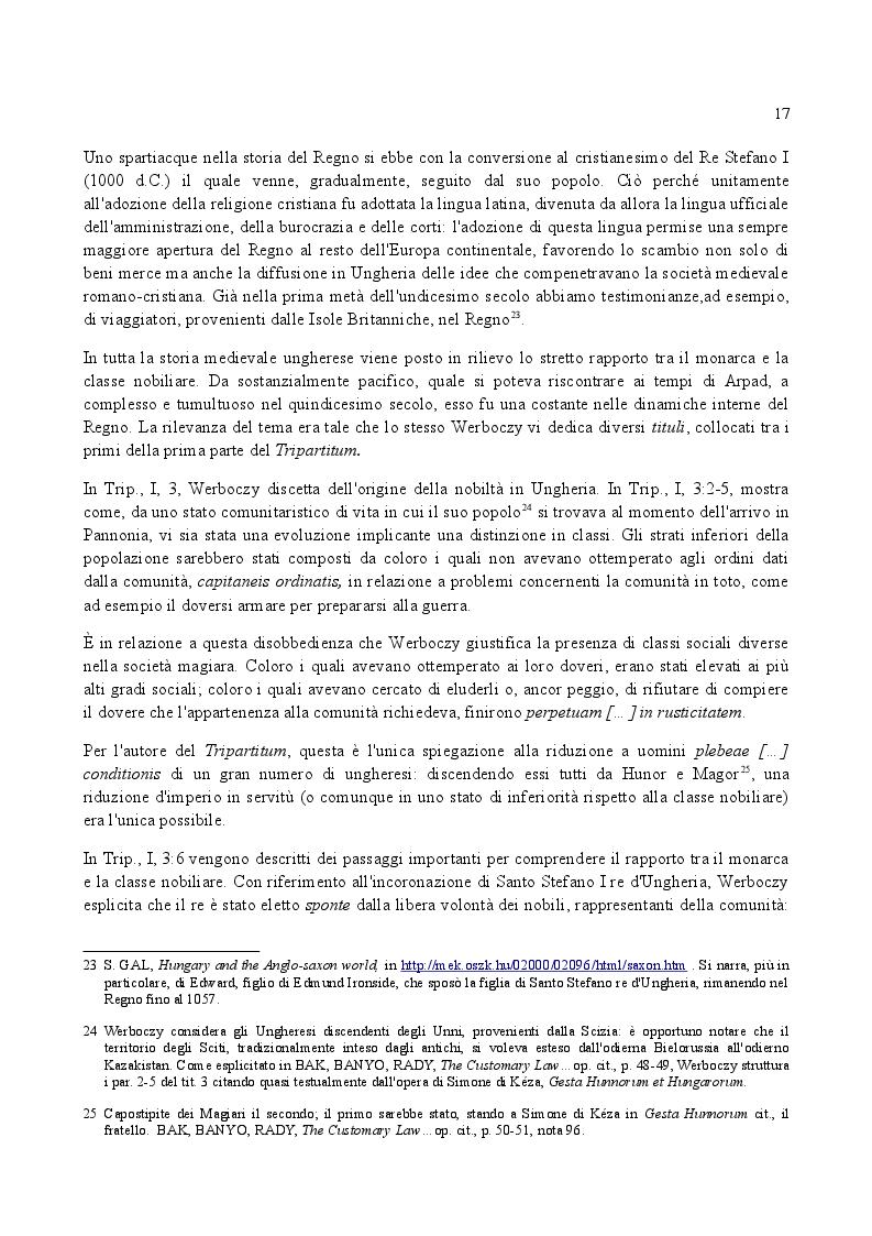 Anteprima della tesi: Famiglia e Successioni in Ungheria tra tardo Medioevo e prima Età moderna: il Tripartitum di Istvan Werboczy (1517), Pagina 10