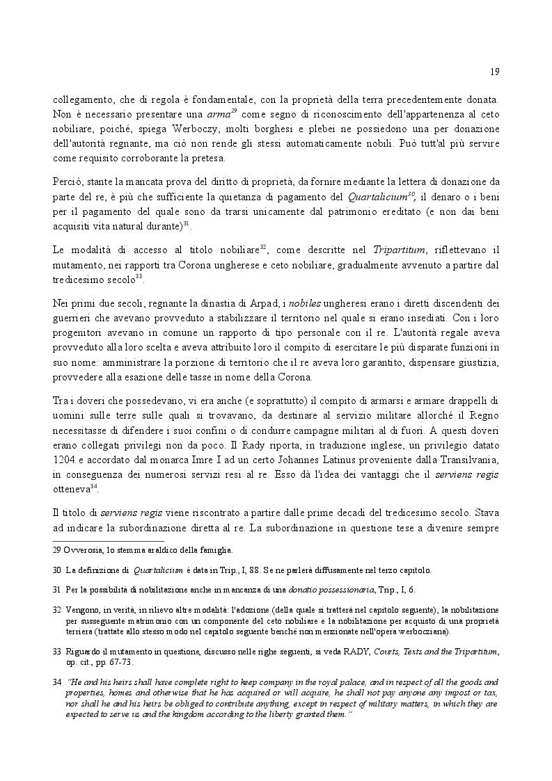 Anteprima della tesi: Famiglia e Successioni in Ungheria tra tardo Medioevo e prima Età moderna: il Tripartitum di Istvan Werboczy (1517), Pagina 12