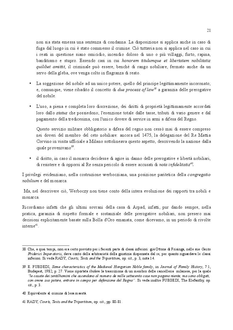 Anteprima della tesi: Famiglia e Successioni in Ungheria tra tardo Medioevo e prima Età moderna: il Tripartitum di Istvan Werboczy (1517), Pagina 14