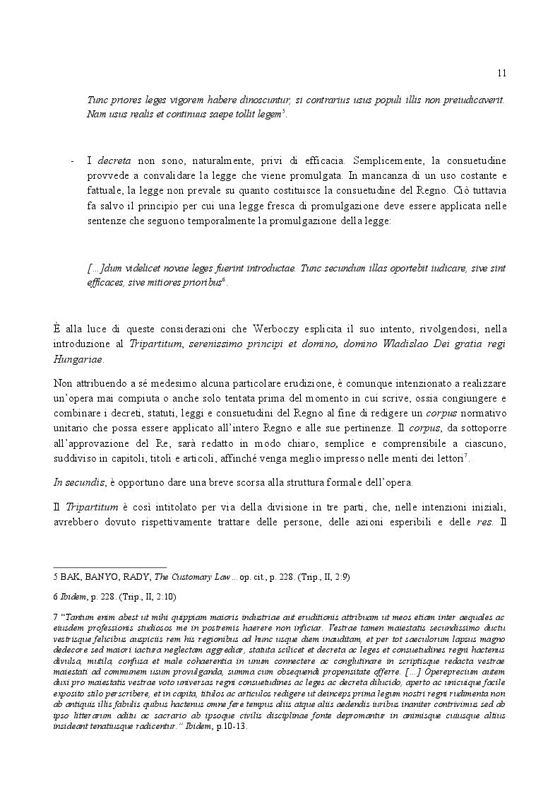 Anteprima della tesi: Famiglia e Successioni in Ungheria tra tardo Medioevo e prima Età moderna: il Tripartitum di Istvan Werboczy (1517), Pagina 4