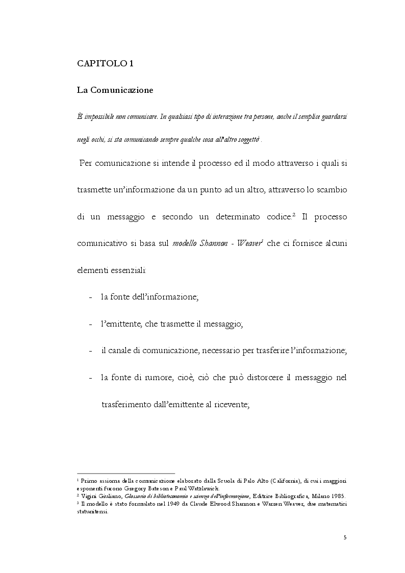 Anteprima della tesi: La Comunicazione Interculturale: le difficoltà dell'interprete di trattativa tra prossemica e cinesica, Pagina 6