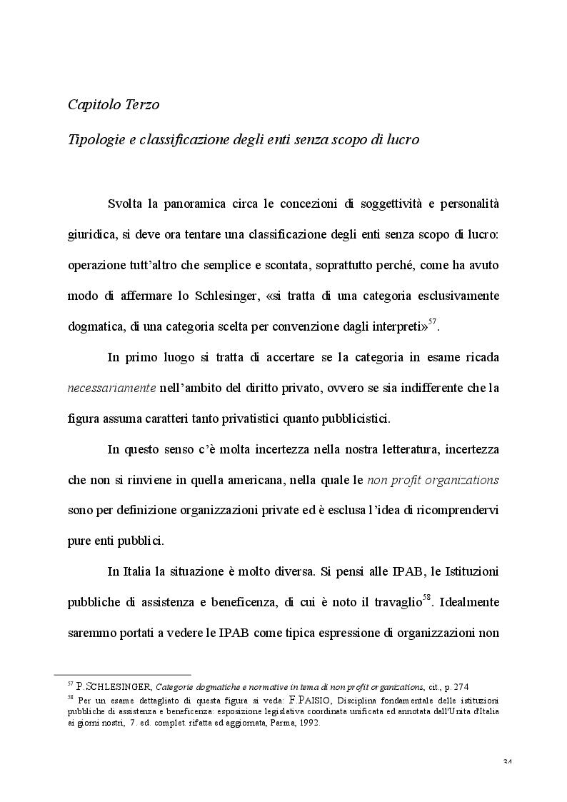 Anteprima della tesi: L'esercizio dell'attività d'impresa da parte delle Associazioni e delle Fondazioni, Pagina 2
