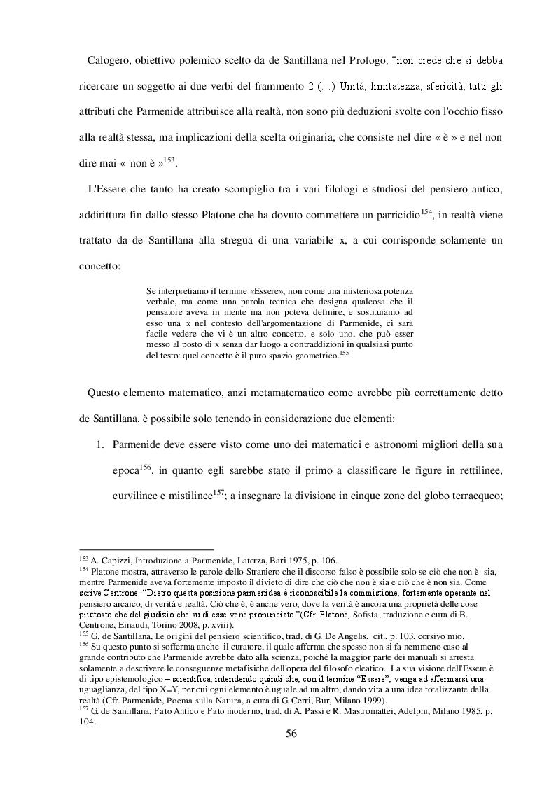 Anteprima della tesi: ''Arte della Fuga'': Scienza e Mito in Giorgio de Santillana, Pagina 3