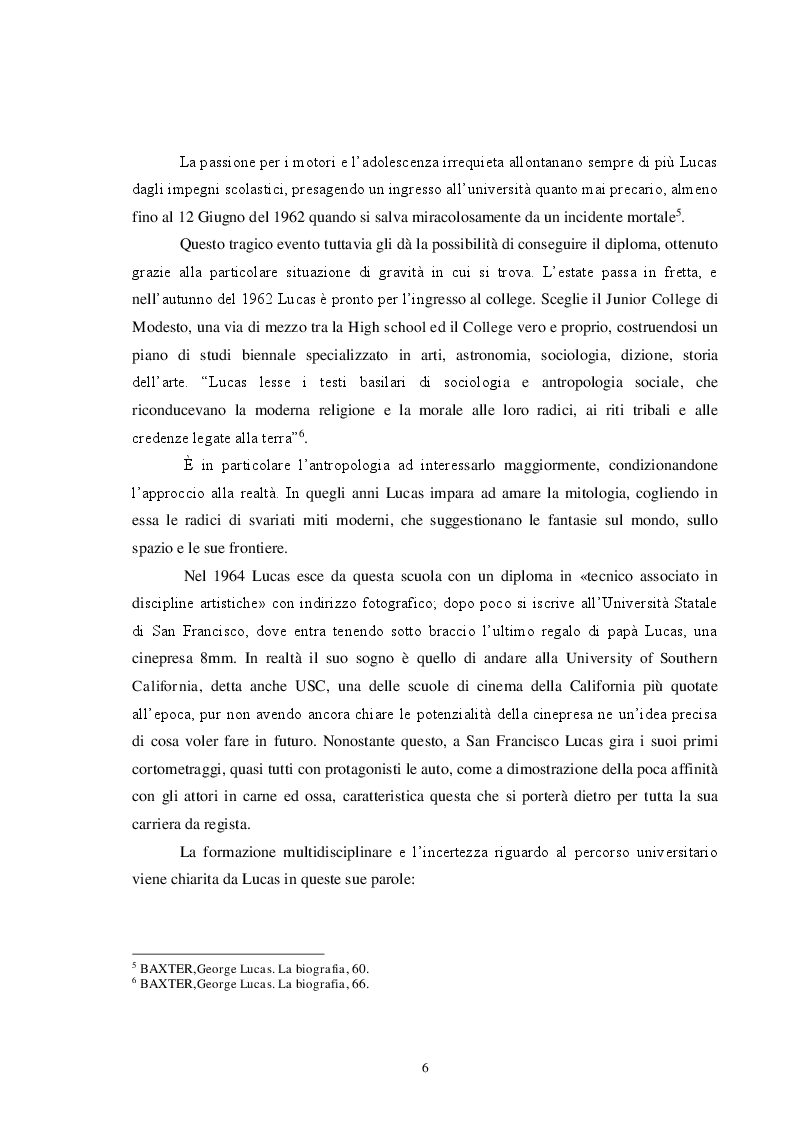 Anteprima della tesi: Star Wars, un successo di narrazione e tecnologia, Pagina 6