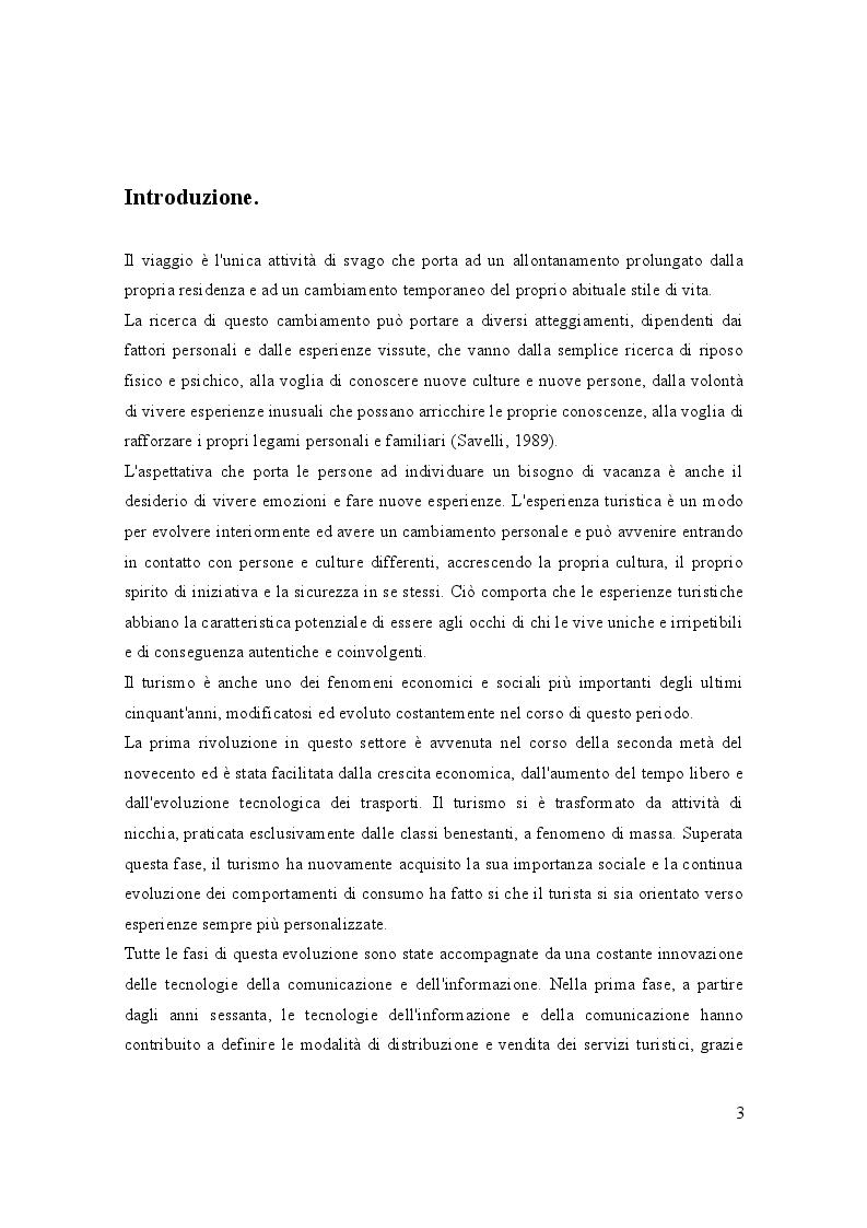 Anteprima della tesi: Turismo e media digitali: Smart tourism e sue applicazioni, Pagina 2