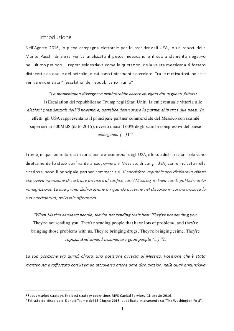 Anteprima della tesi: Strumenti derivati e gestione del rischio di cambio, Pagina 2