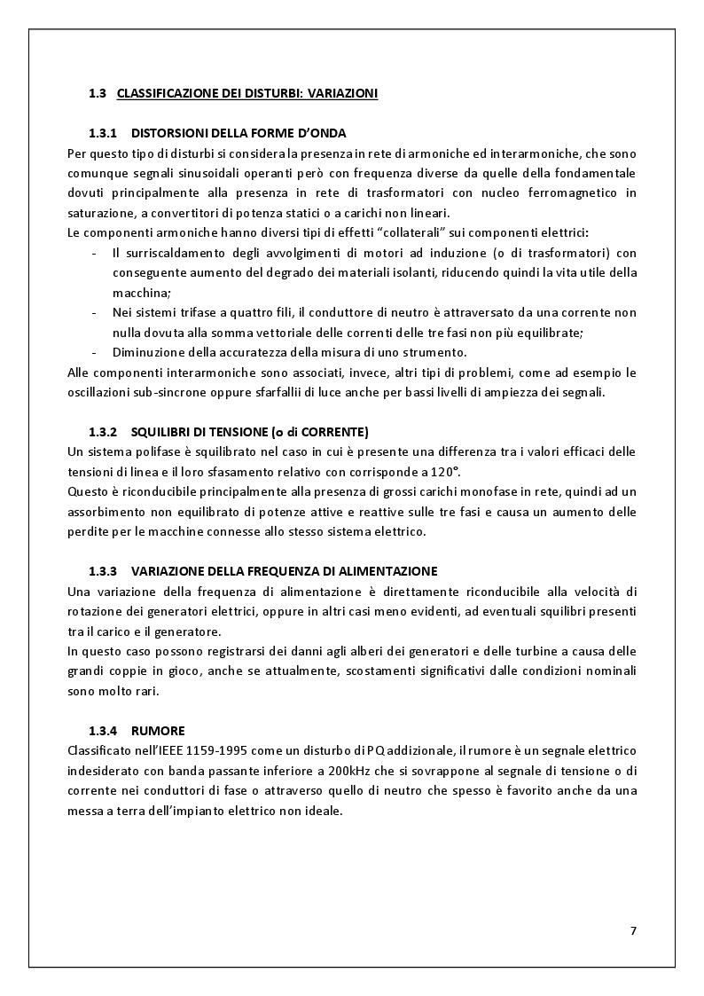 Estratto dalla tesi: Buchi di Tensione - Caratterizzazione dei buchi di tensione, analisi e valutazione dei dati relativi a questi disturbi di Power Quality estrapolati dal sito QuEEN