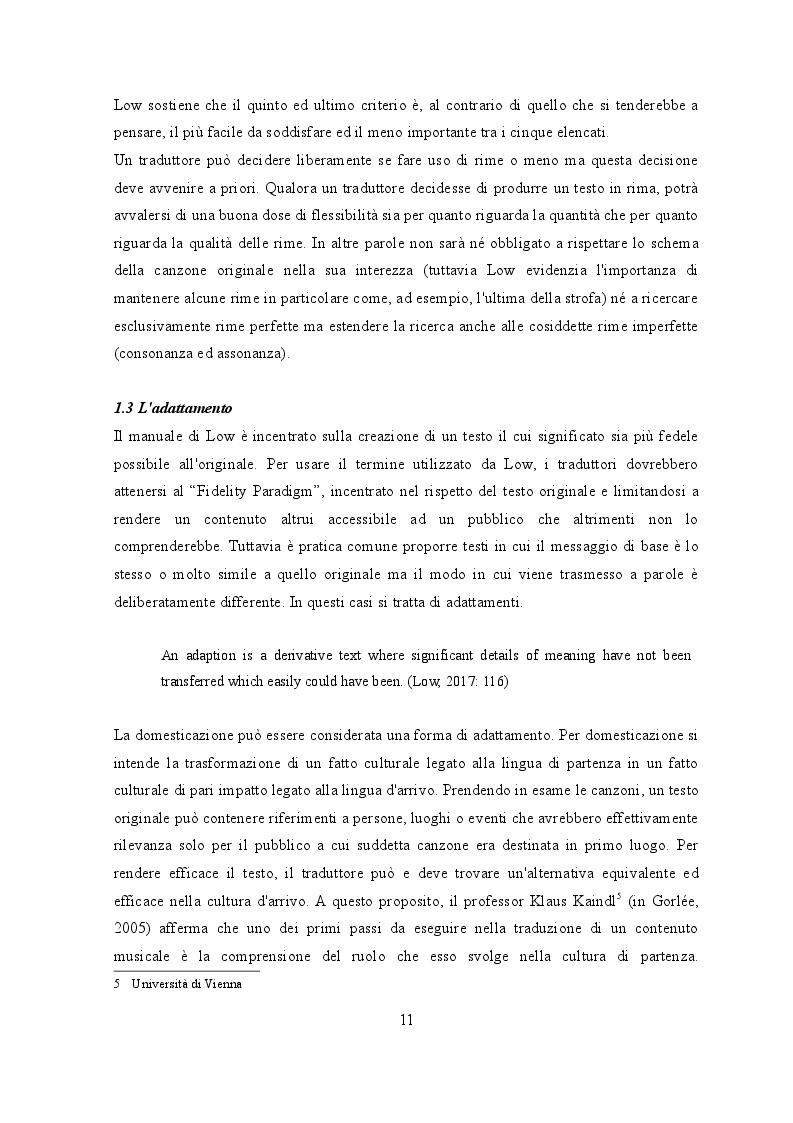 Estratto dalla tesi: Traduzione e musica: il caso Rolling Stones e Beatles