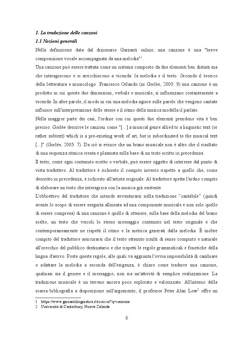 Anteprima della tesi: Traduzione e musica: il caso Rolling Stones e Beatles, Pagina 4